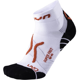 UYN Run Super Fast Socks Men White/Red